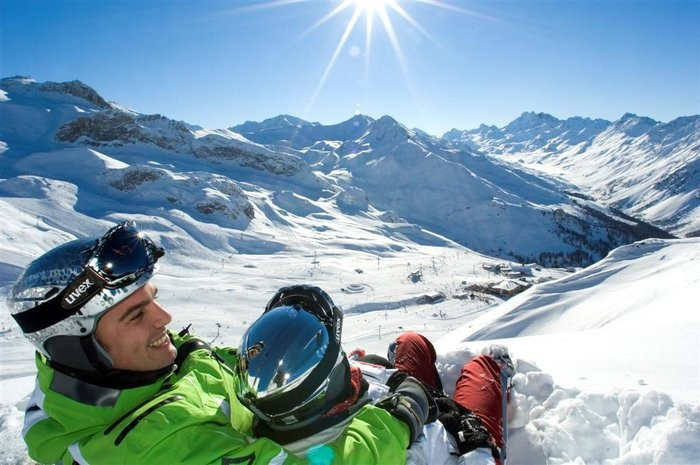 Wintersportgebied Ischgl Samnaun