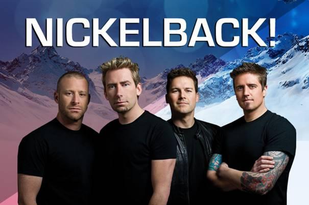Nickelback laat Ischgl 'rocken' tijdens opening winterseizoen van 2013 / 2014
