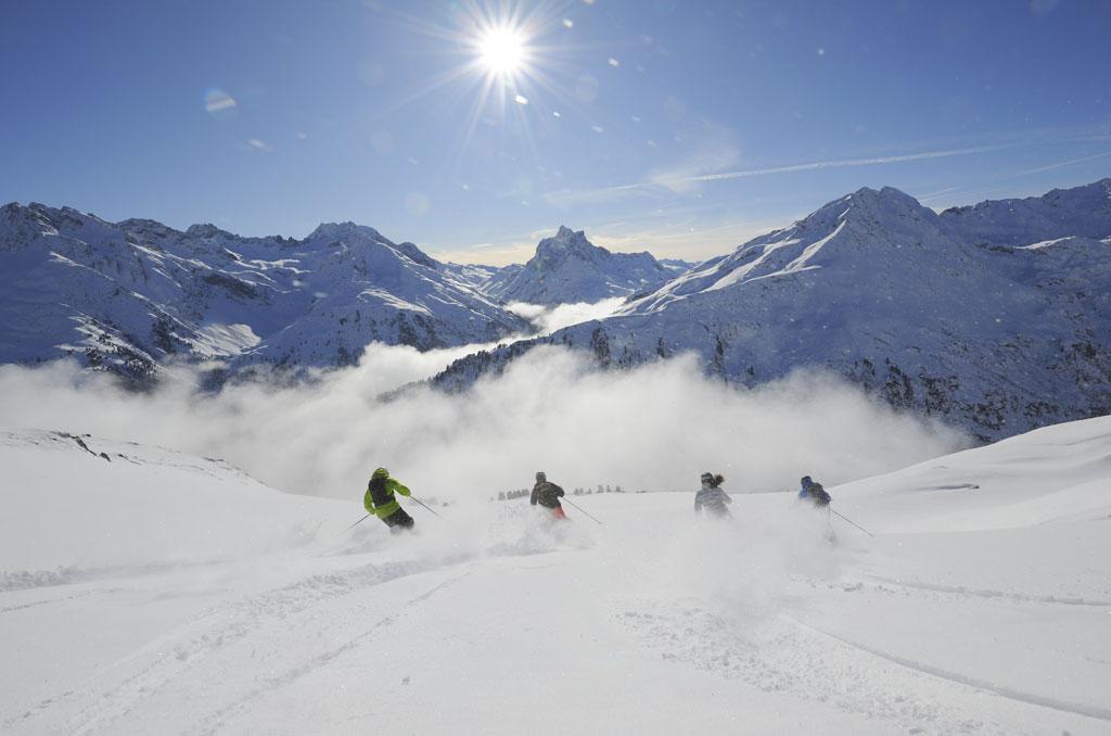 Wintersport: openening seizoen Tirol
