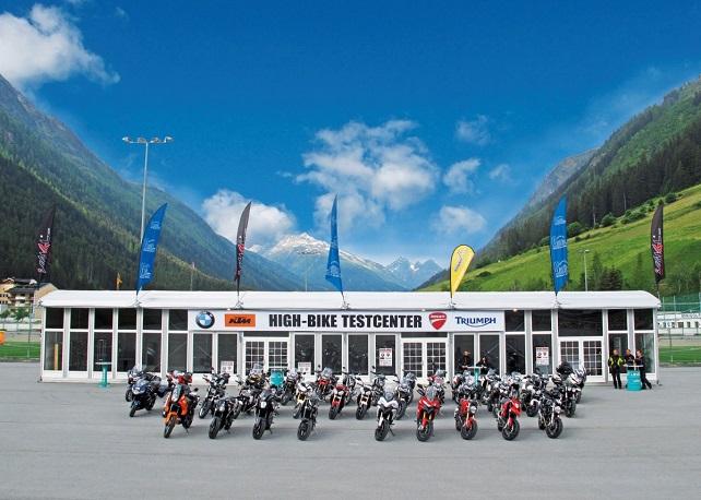 Highbike Testcenter Paznaun