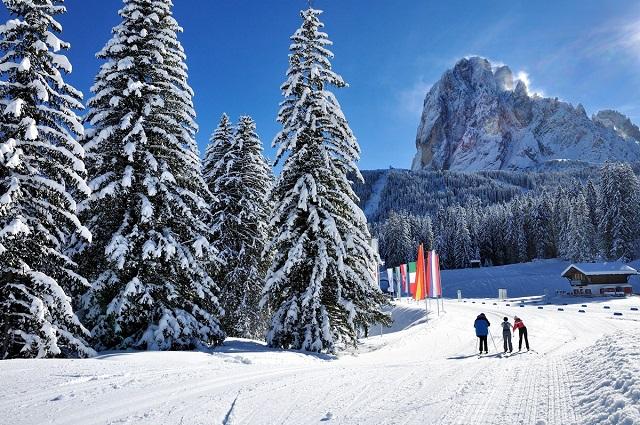 Langlaufzentrum auf Monte Pana/Centro sci da fondo Monte Pana
