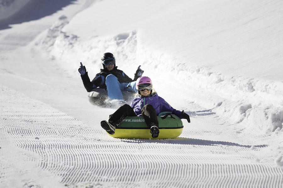 snowtubing in Zillertal Arena