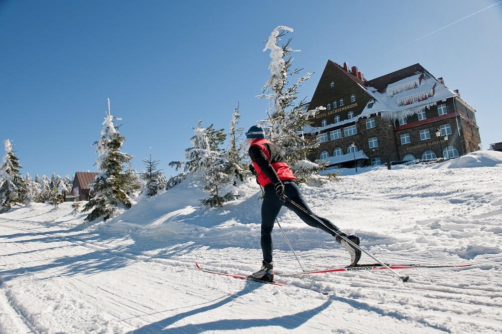 Wintersport in Klinovec