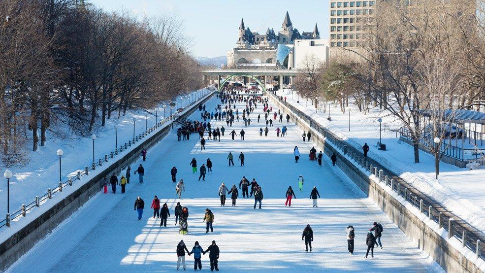 schaatsen in Ottawa