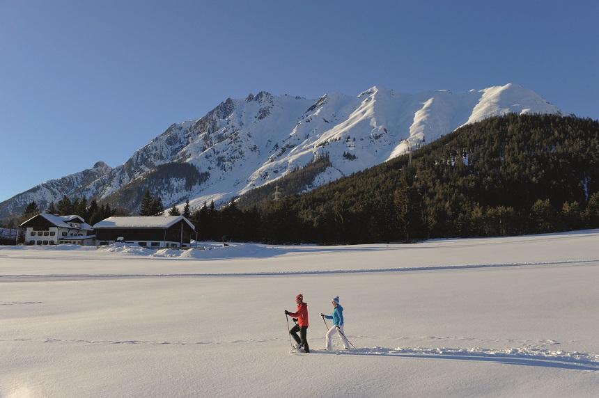 Wintersportgebied Mieming