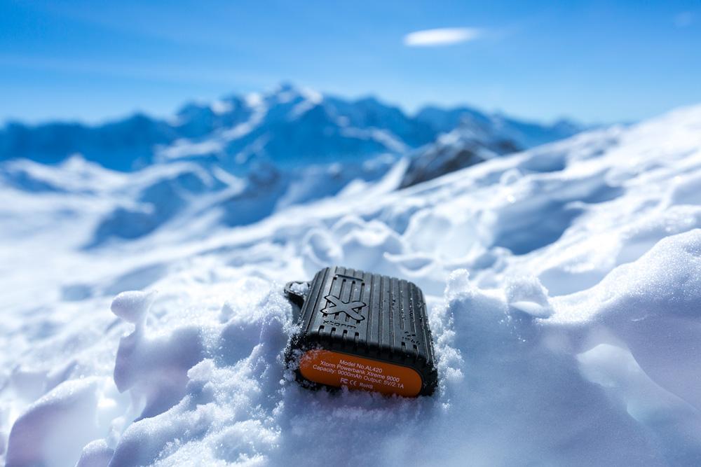 Power bank wintersport
