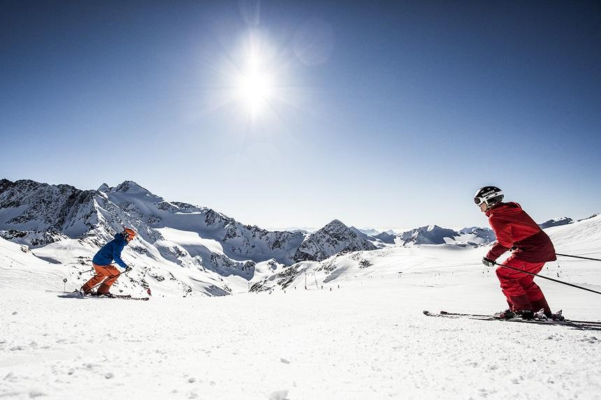 Skiën in Stubai Vallei